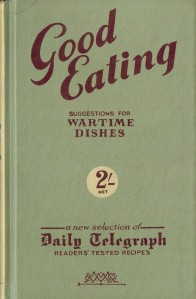Suggestions for Wartime Dishes