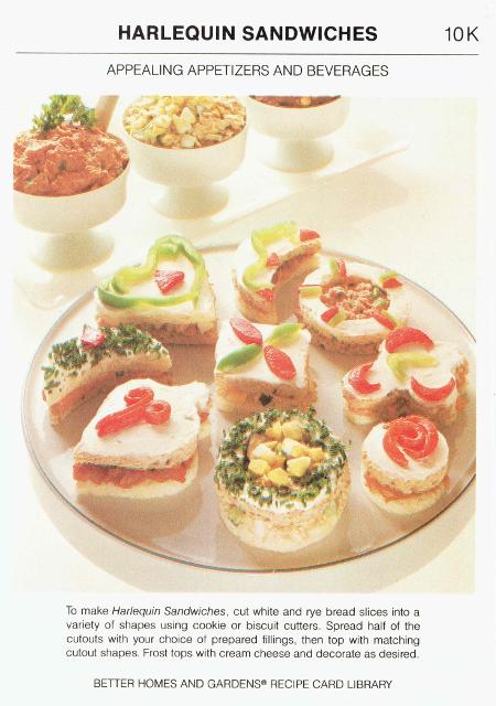 Harlequin Sandwiches 2